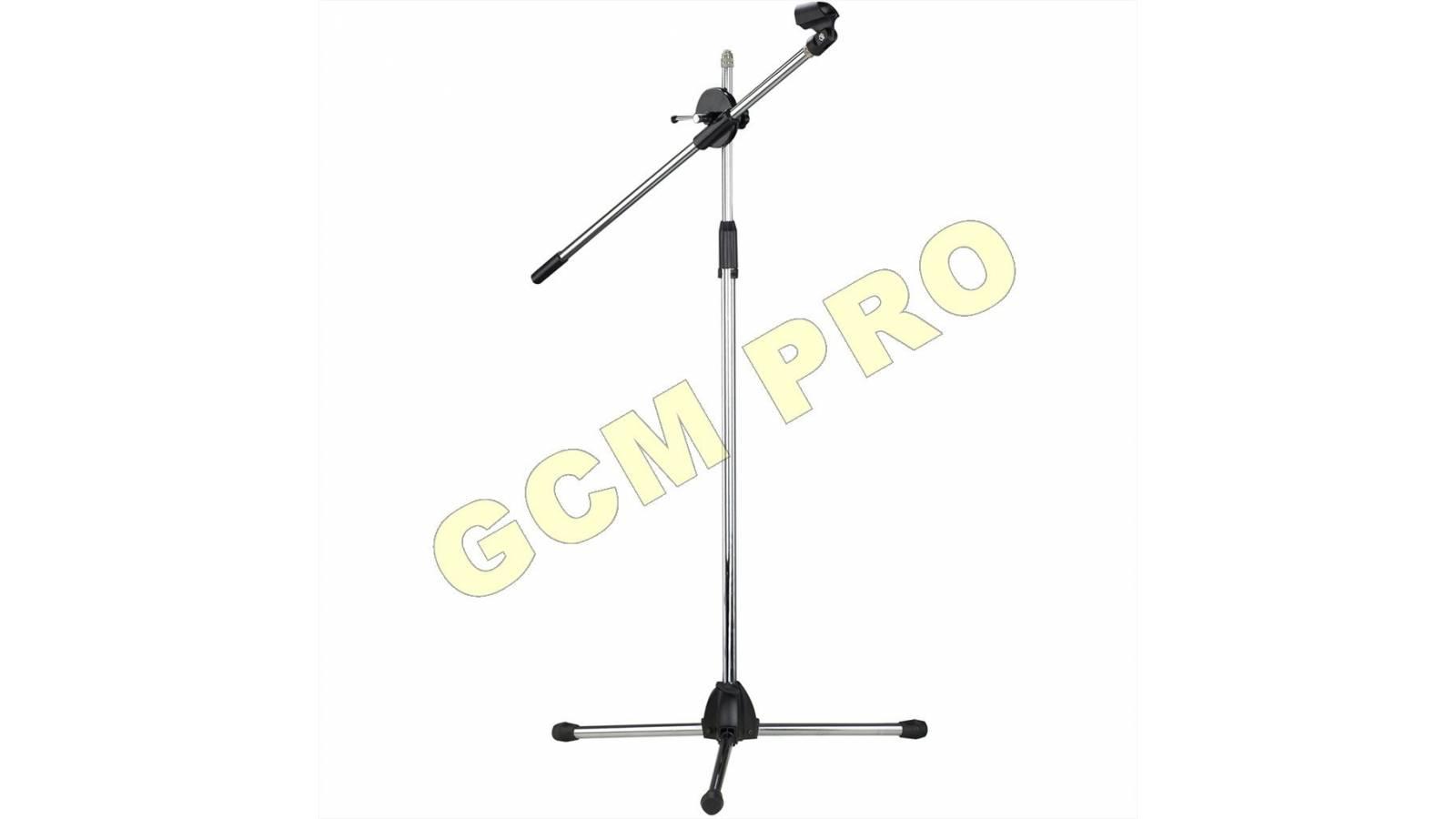 Jirafa Para Microfono con base en Cruz GC02 Gcm Pro