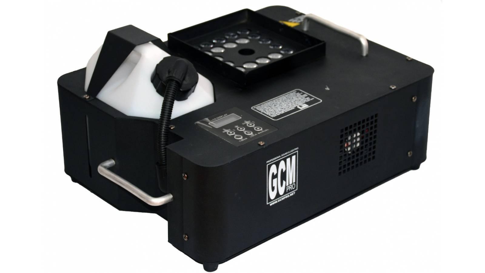 Maquina De Humo 1500watts Vertical Geyser Con Led Rgb