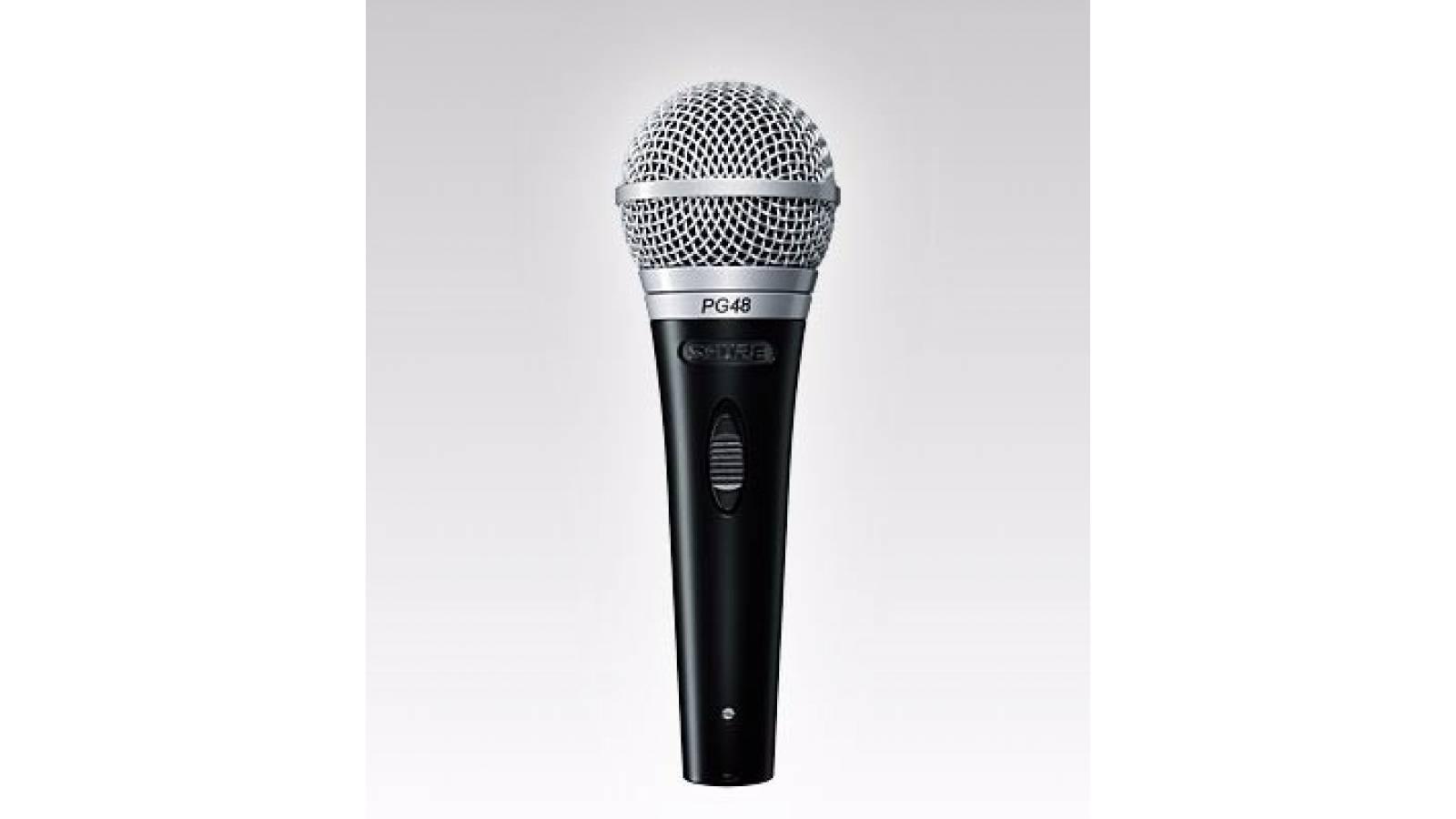 Microfono De Mano Shure PG48xlr