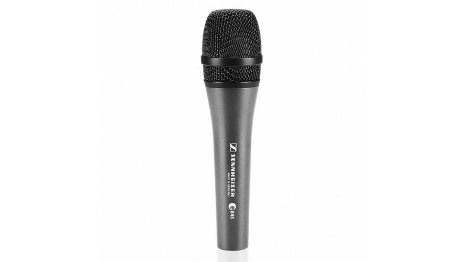 Microfono Senheiser E845 Vocal Dinámico Cardioide
