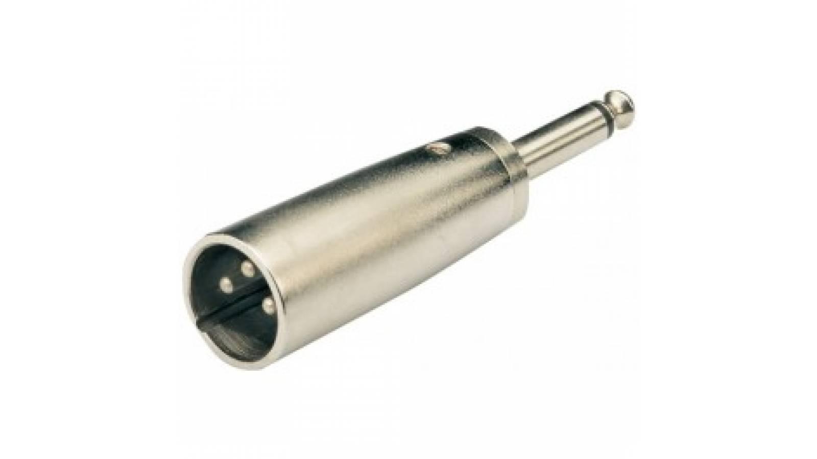 Conector Adaptador P/cable de Canon-M a Plug-M Mono