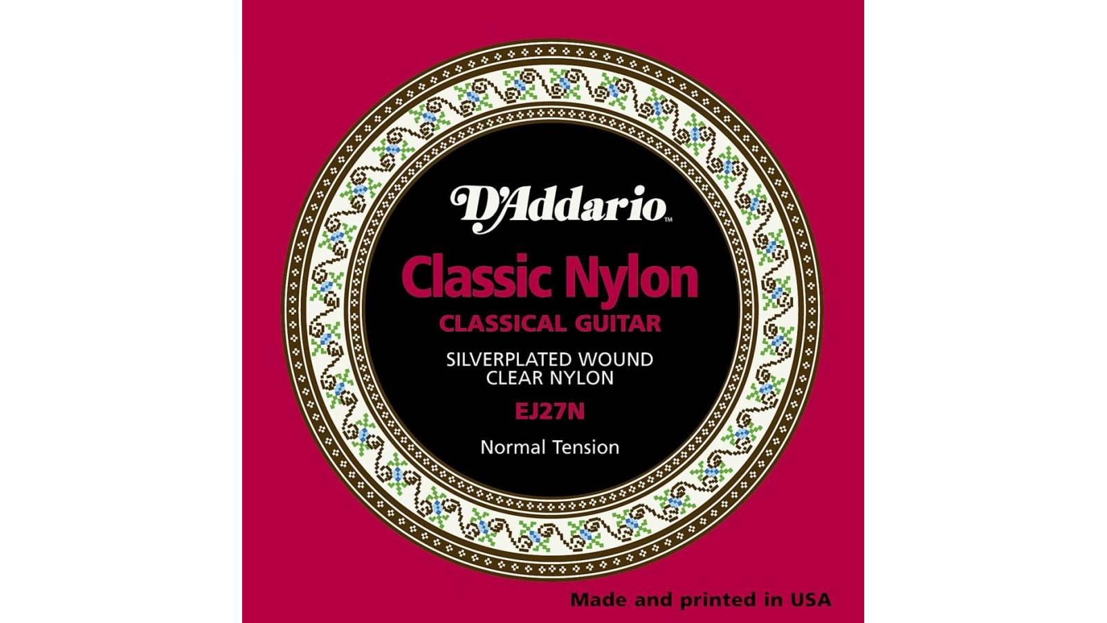 Juego de Cuerdas Encordado Daddario EJ27N Nylon Criolla Clasica