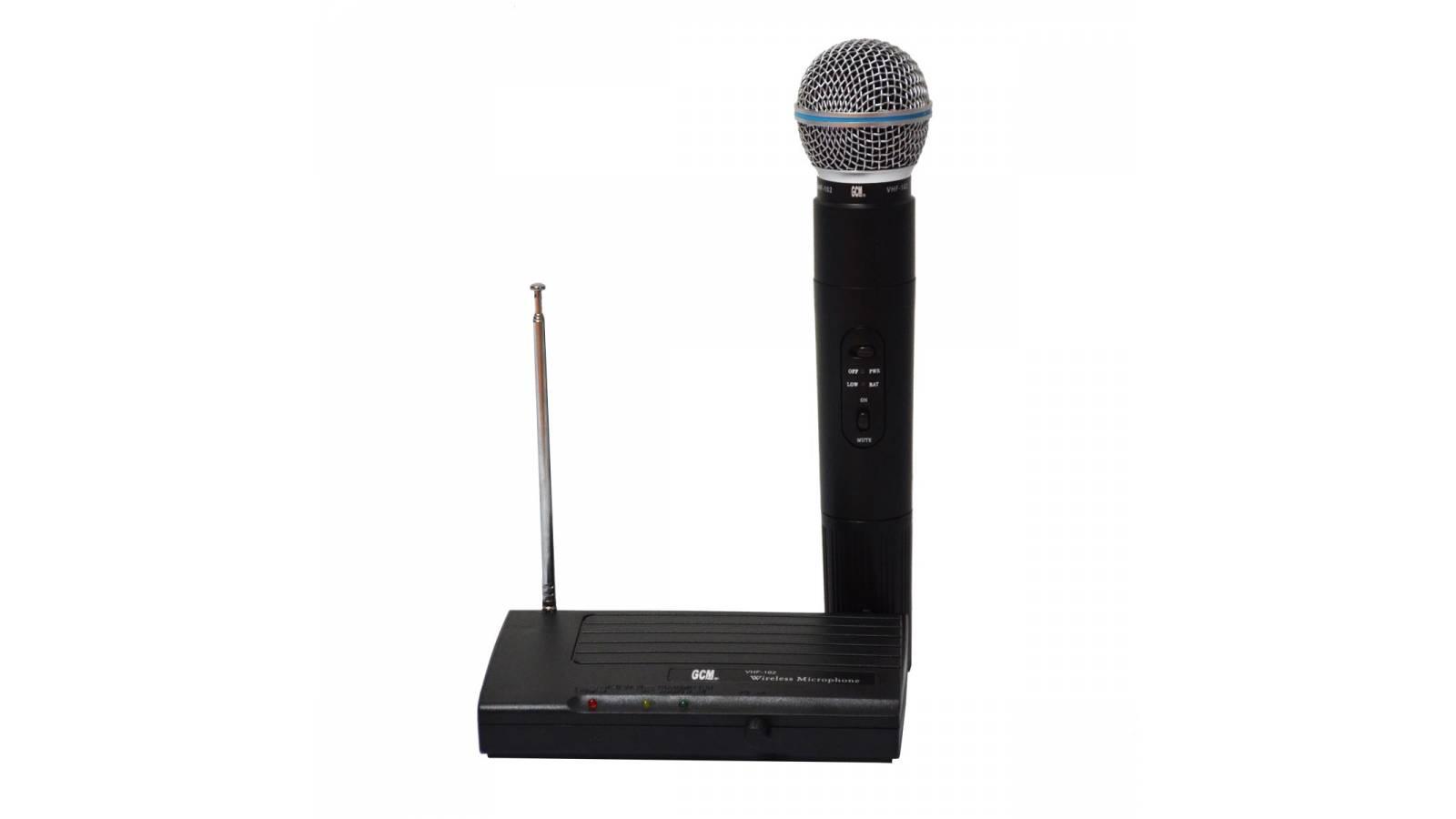 Micrófono Profesional de Mano Inalambrico G-102, 50M de Alcance!