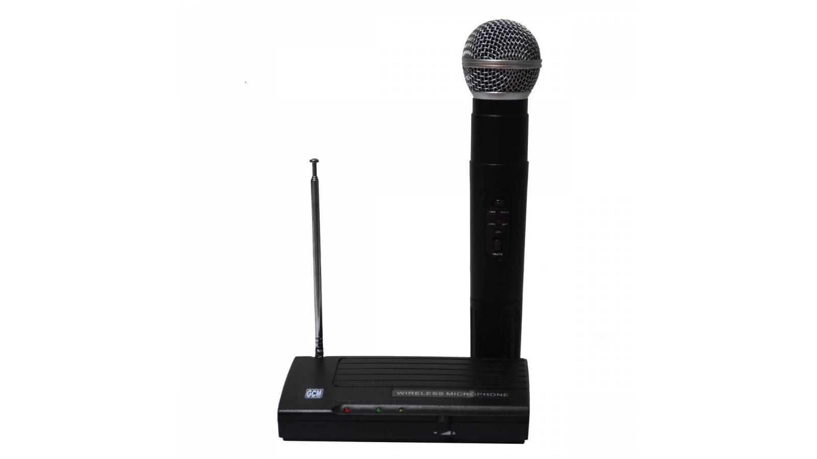 Micrófono Inalámbrico Mano GH-200 Gcm Pro