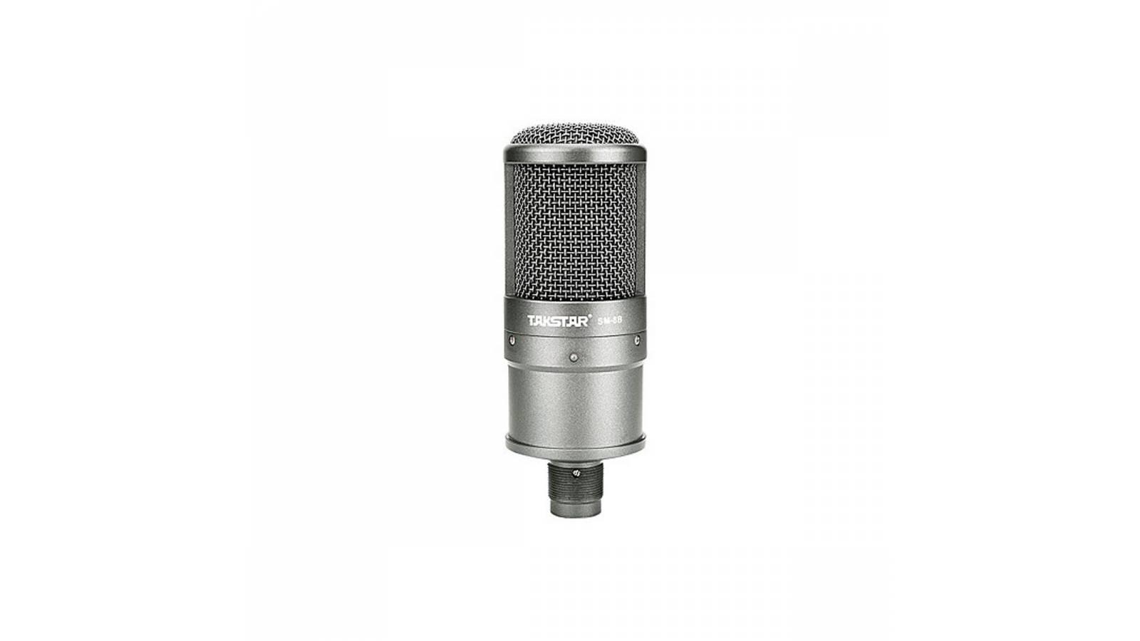 Microfono Condensador Takstar Sm8b Para Estudio De Grabación