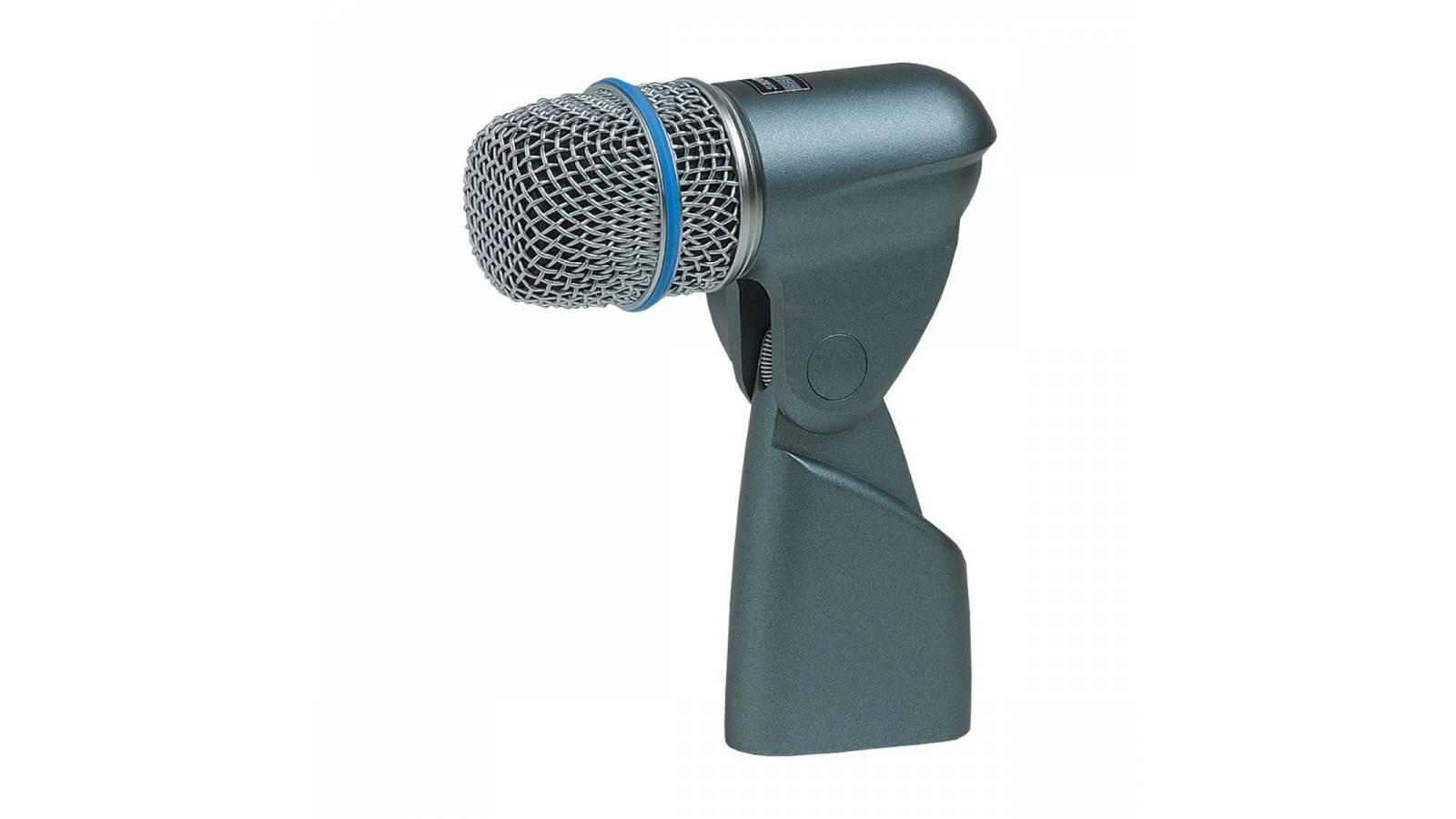 Micrófono Shure Compacto BETA56A Dinámico Supercardioide de Estudio