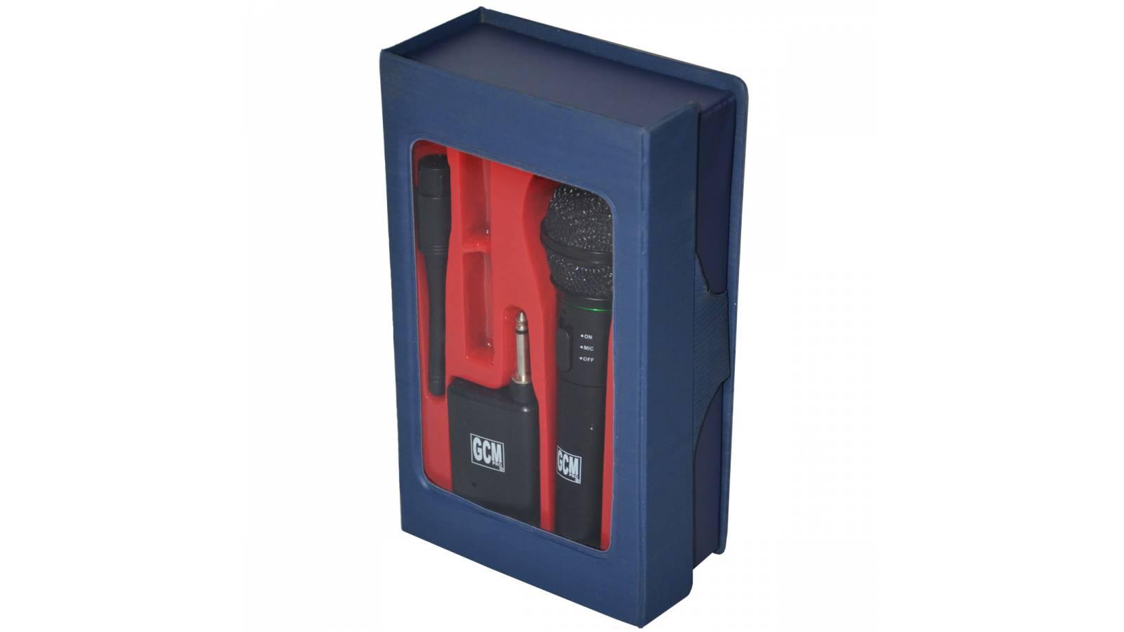Micrófono Inalambrico GCM-308 o Cableado Color Negro Calidad A GcmPro