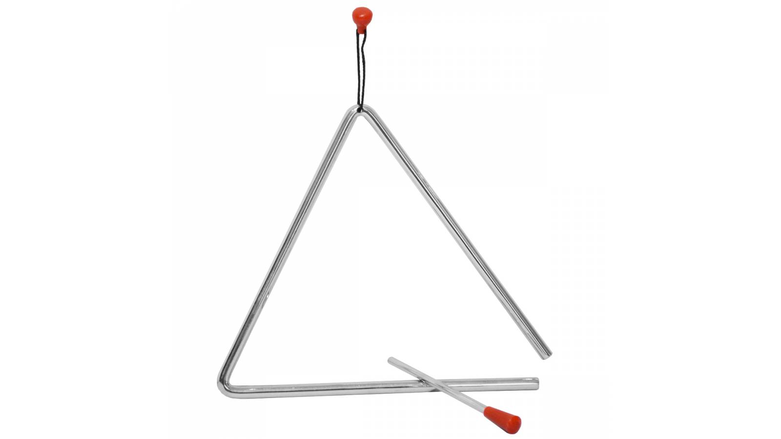 "Triángulo de 7"" Instrumento Musical de Percusión Fever"