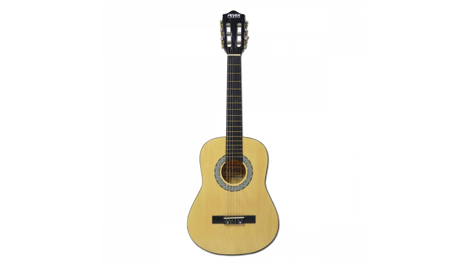 """Guitarra Criolla Fever para niño tamaño 34"""" con Funda de Regalo"""