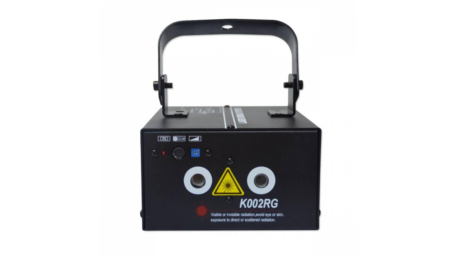 Efecto Láser Rojo y Verde K002RG Alta Potencia Gcm Pro