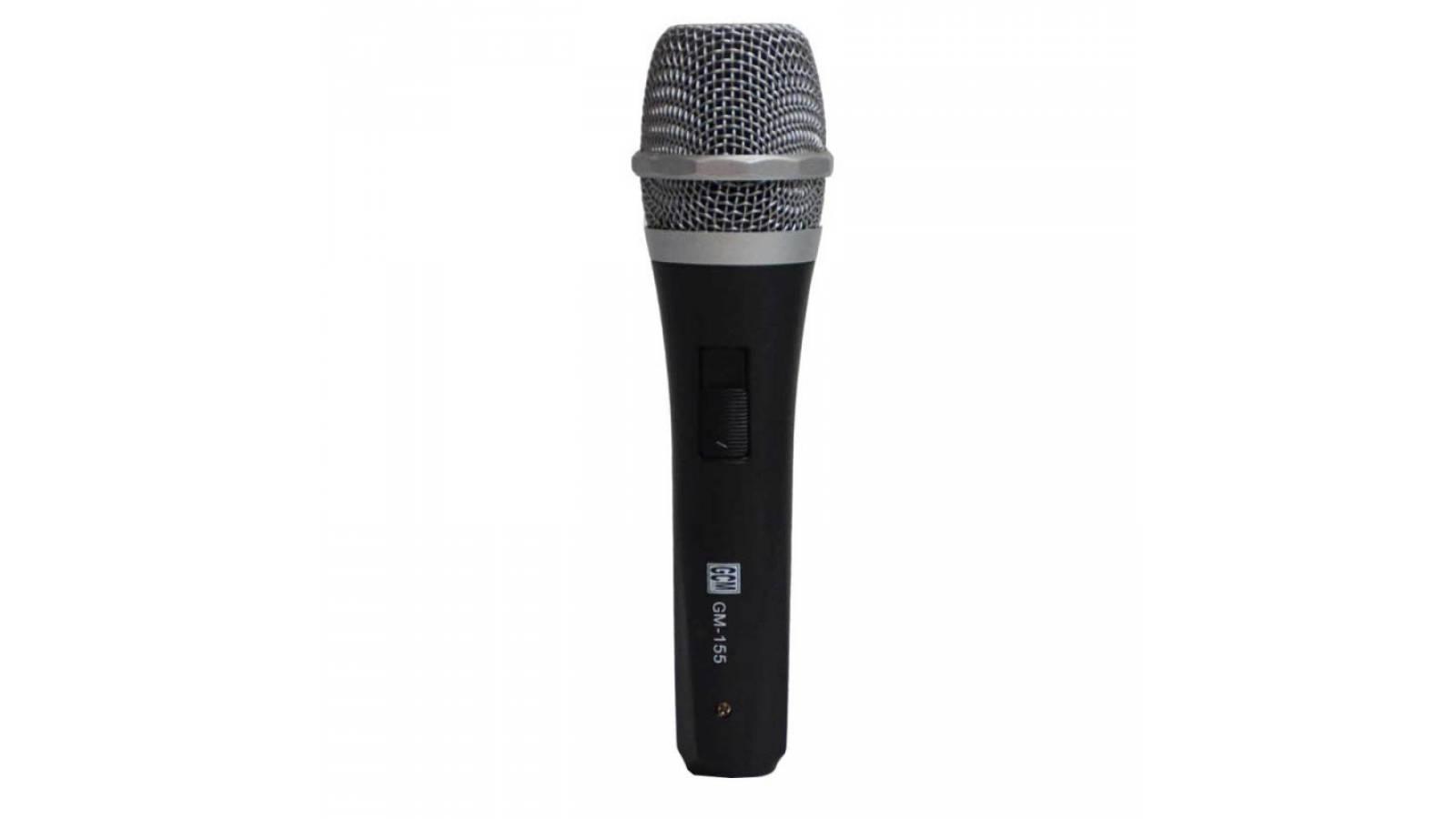 Micrófono Alámbrico / Cableado / Dinámico, Ideal para Karaoke GM-155