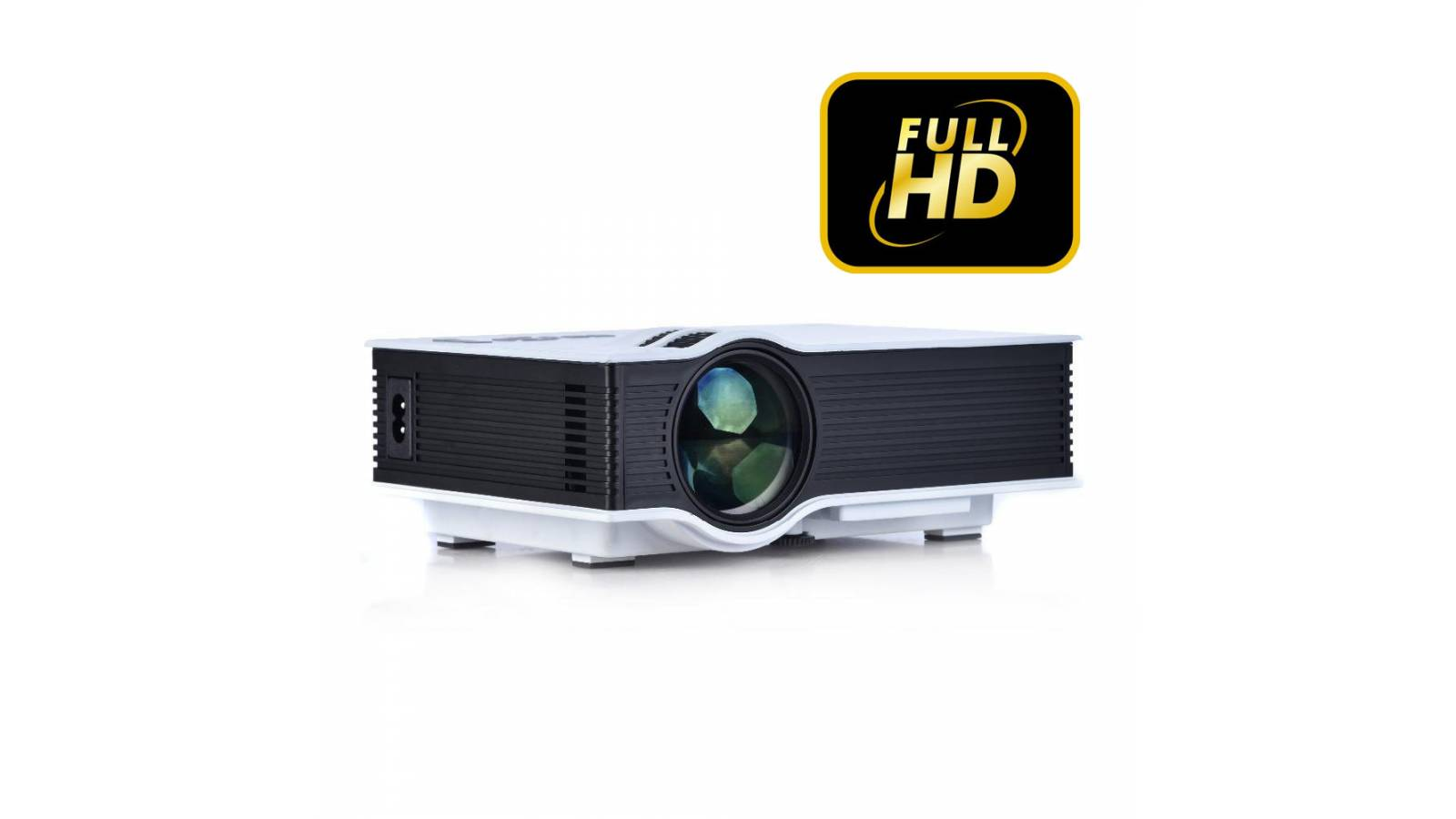 Mini Proyector Led Full Hd Portátil G40+ 1080P VGA AV HDMI 1200 ANSI