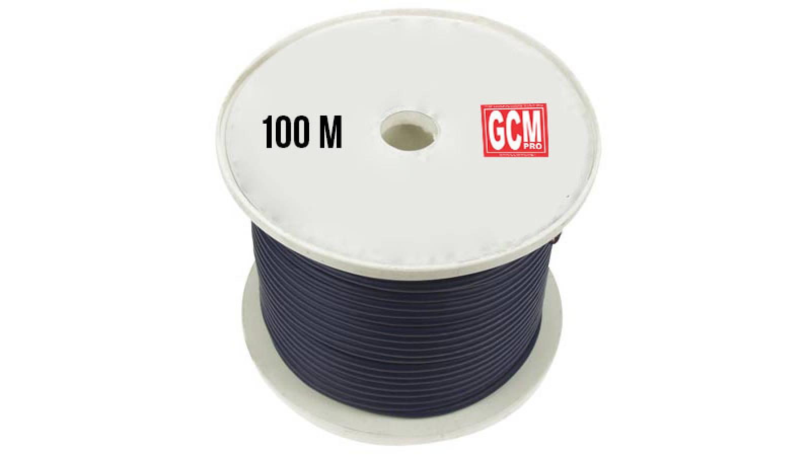 Bobina rollo de cable para Microfono 100 Metros Gcm Pro