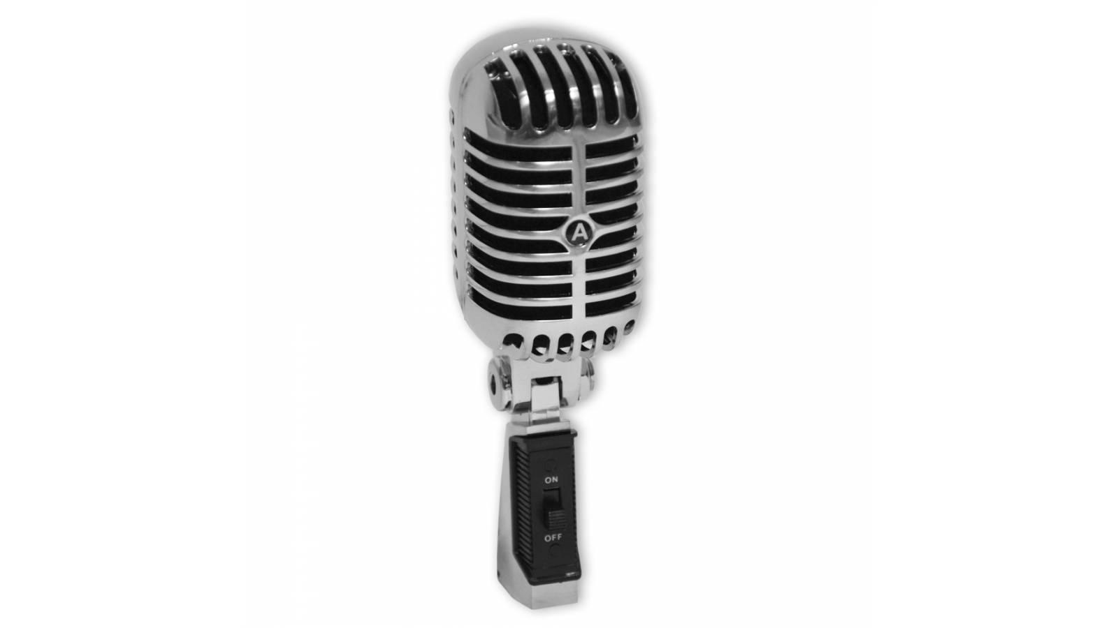 Microfono Multiproposito diseño Retro 50´s GM-55SH Gcm Pro