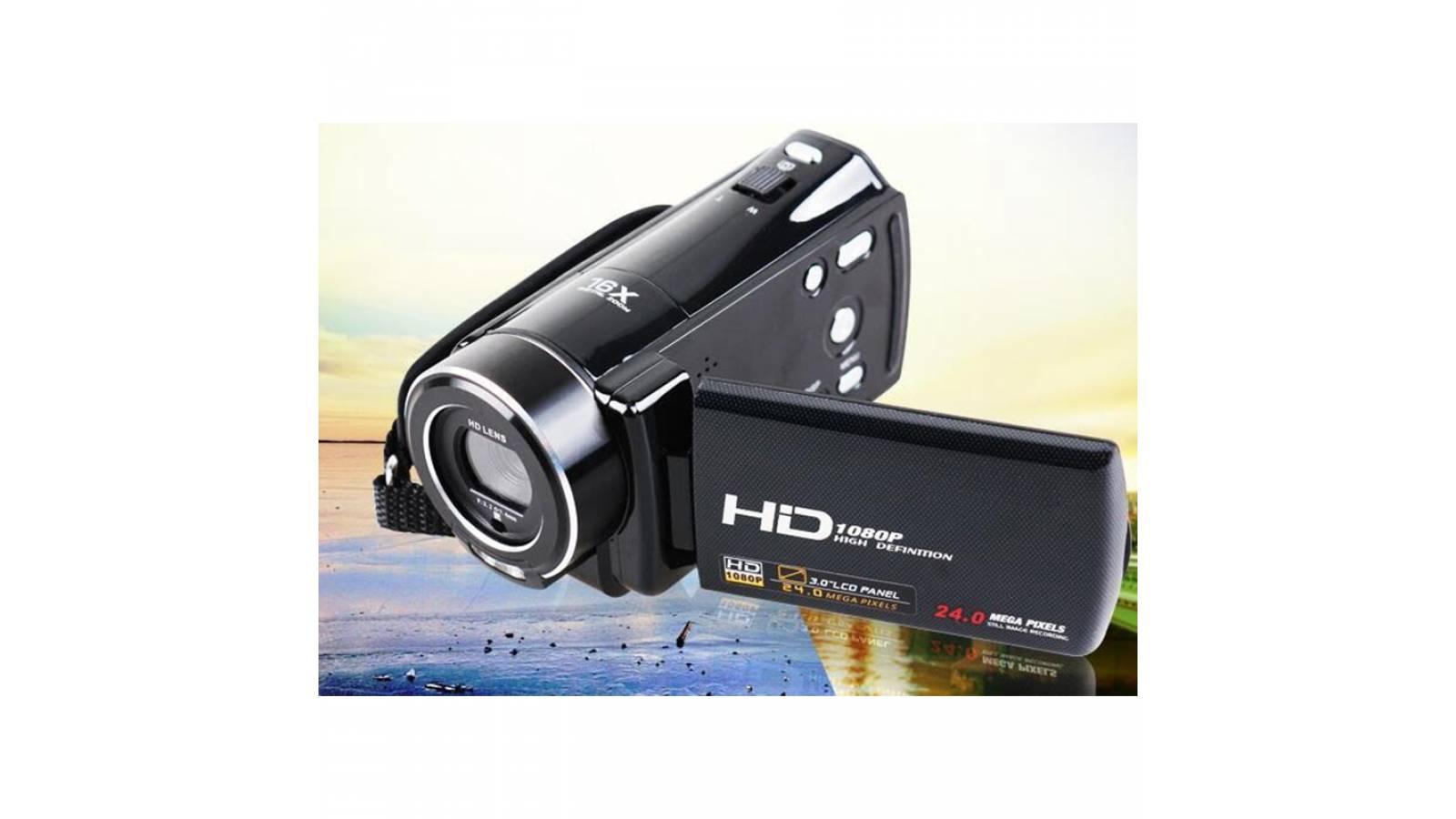 Cámara Filmadora Digital 24Mpx + Ctrl Remoto Zoom x16