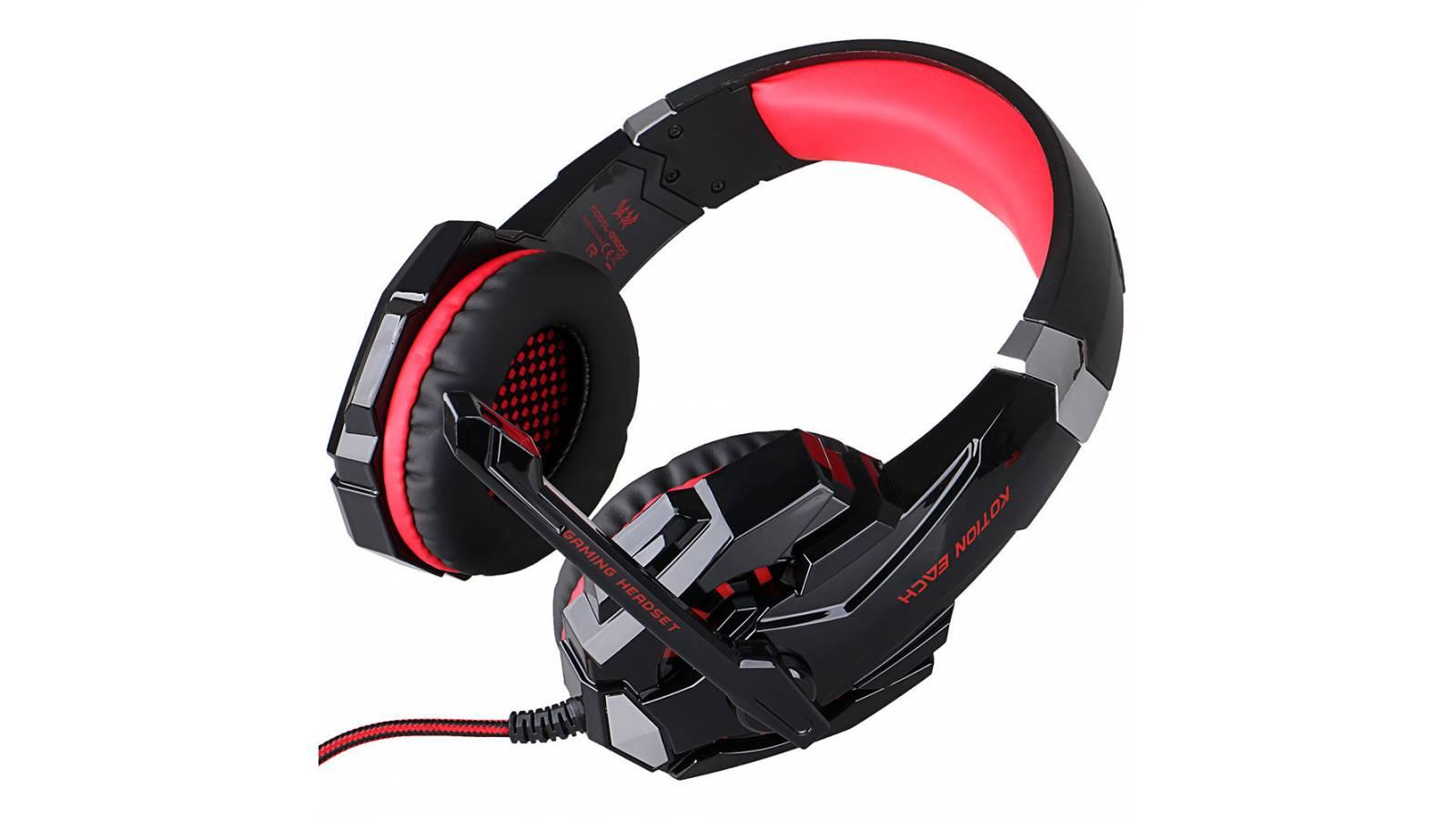Auriculares / Auricular Gamer Pro PC LED G9000 con Micrófono Gran Sonido Oferta