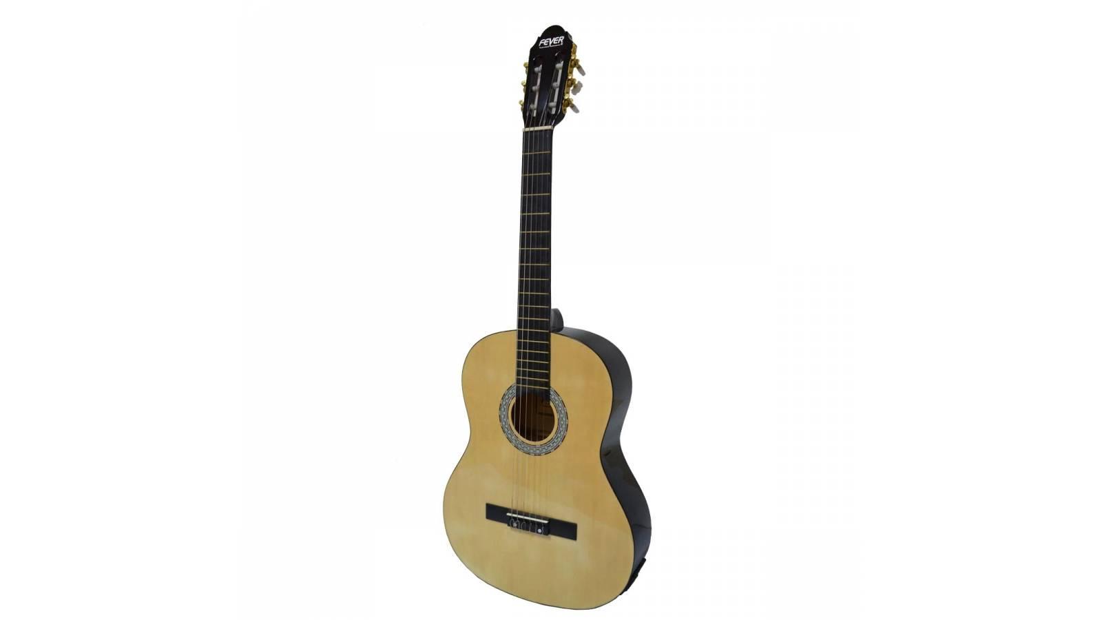 Guitarra Electro Acústica Fever Cuerdas Nylon FEV-39EQC