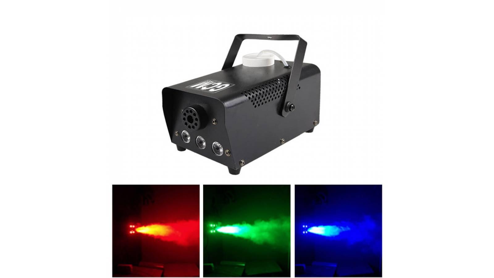 Maquina de Humo 400W con LED GF-400W-LED