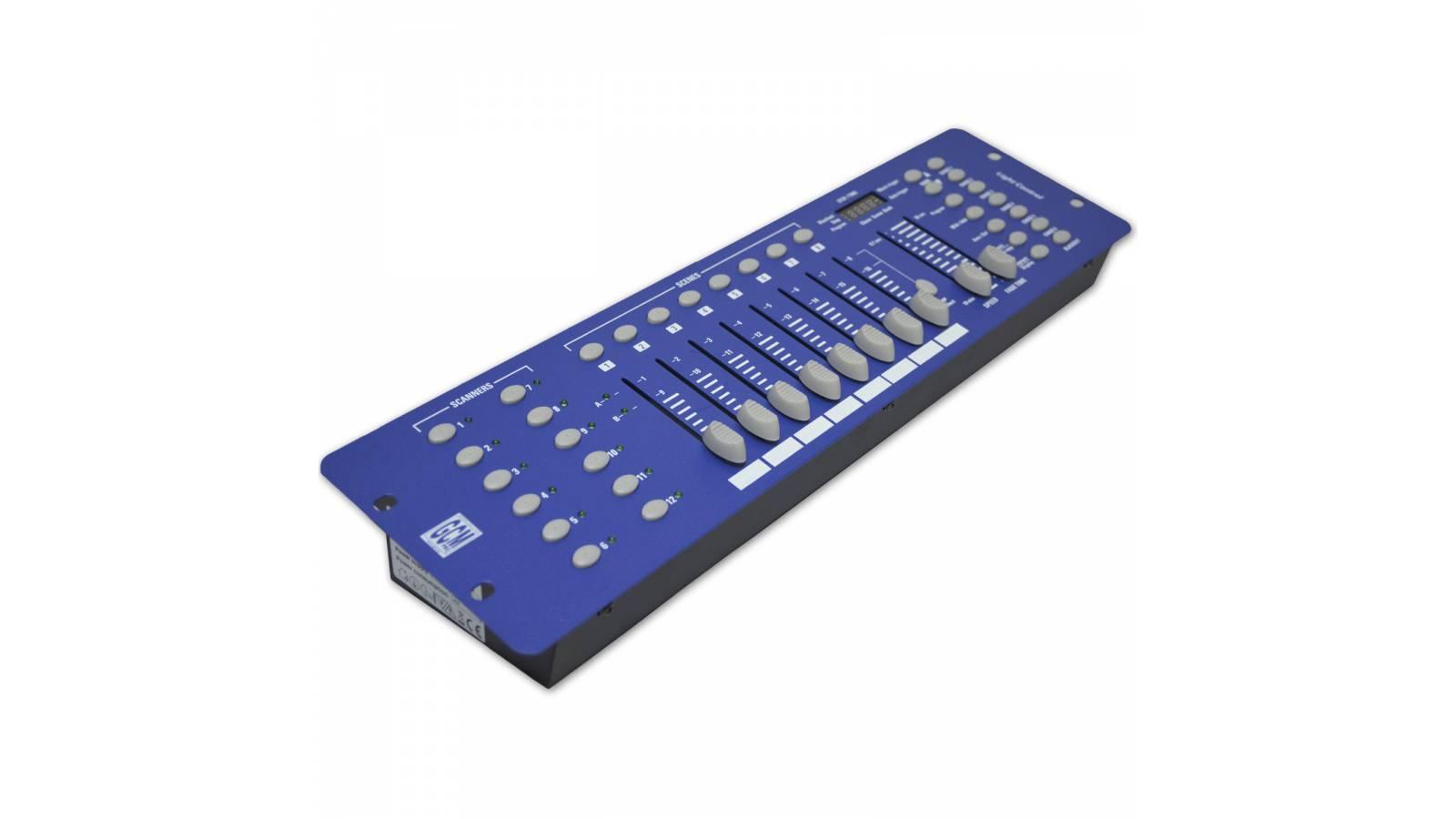 Controlador Consola Dmx GC-192D Efectos Luces Modelo 2017 Gcm Pro