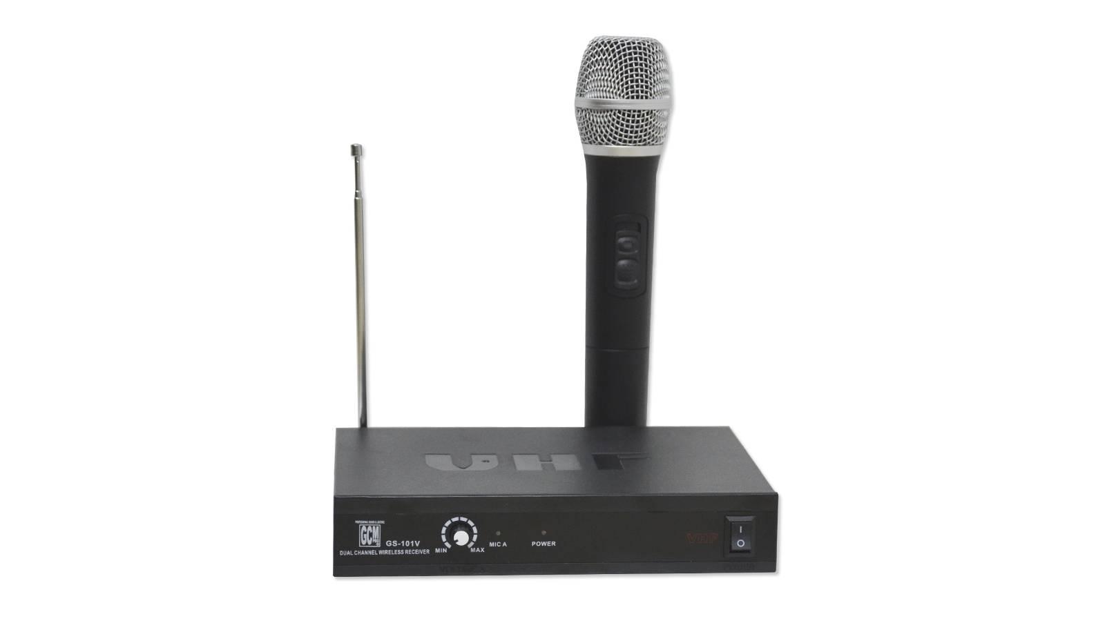 Microfono de Mano VHF Inalambrico GS-101 GcmPro