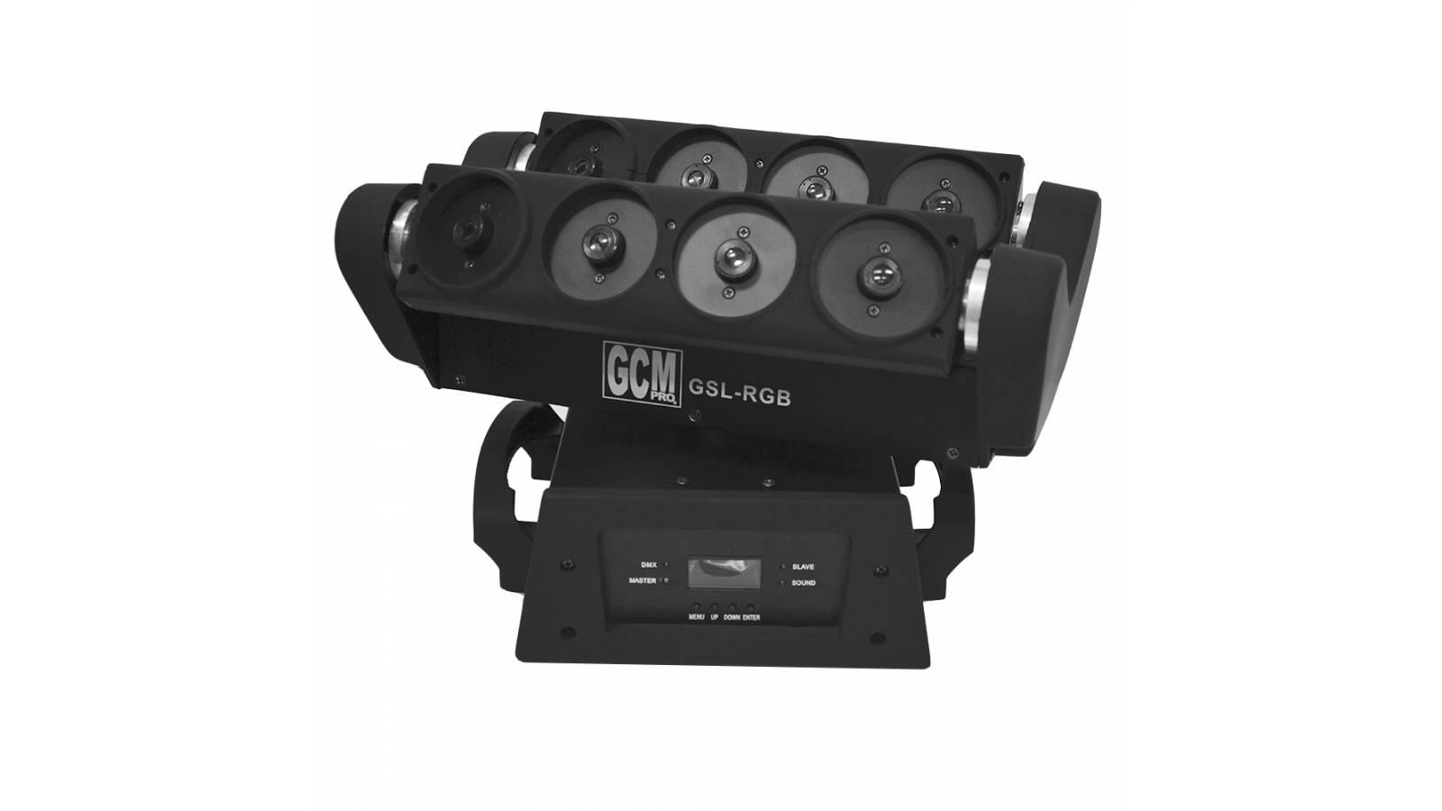 Cabeza Móvil Spider LASER GSL-RGB  Alta Potencia y Exclusividad