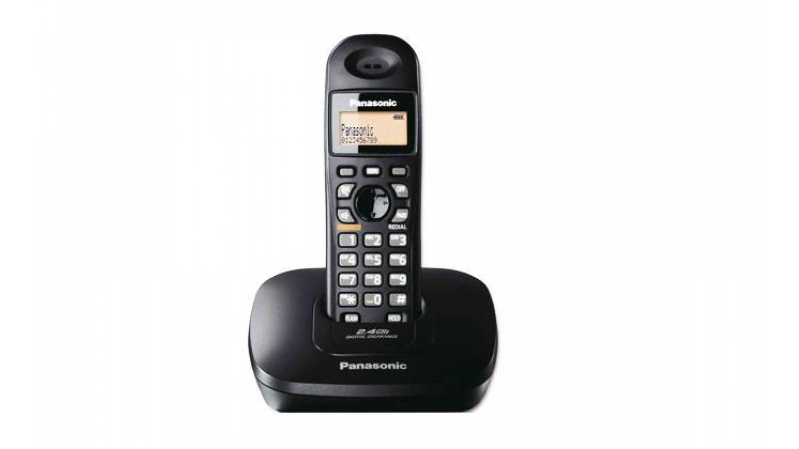 Teléfono Inalámbrico Panasonic KX-TG3611BXB Super Oferta