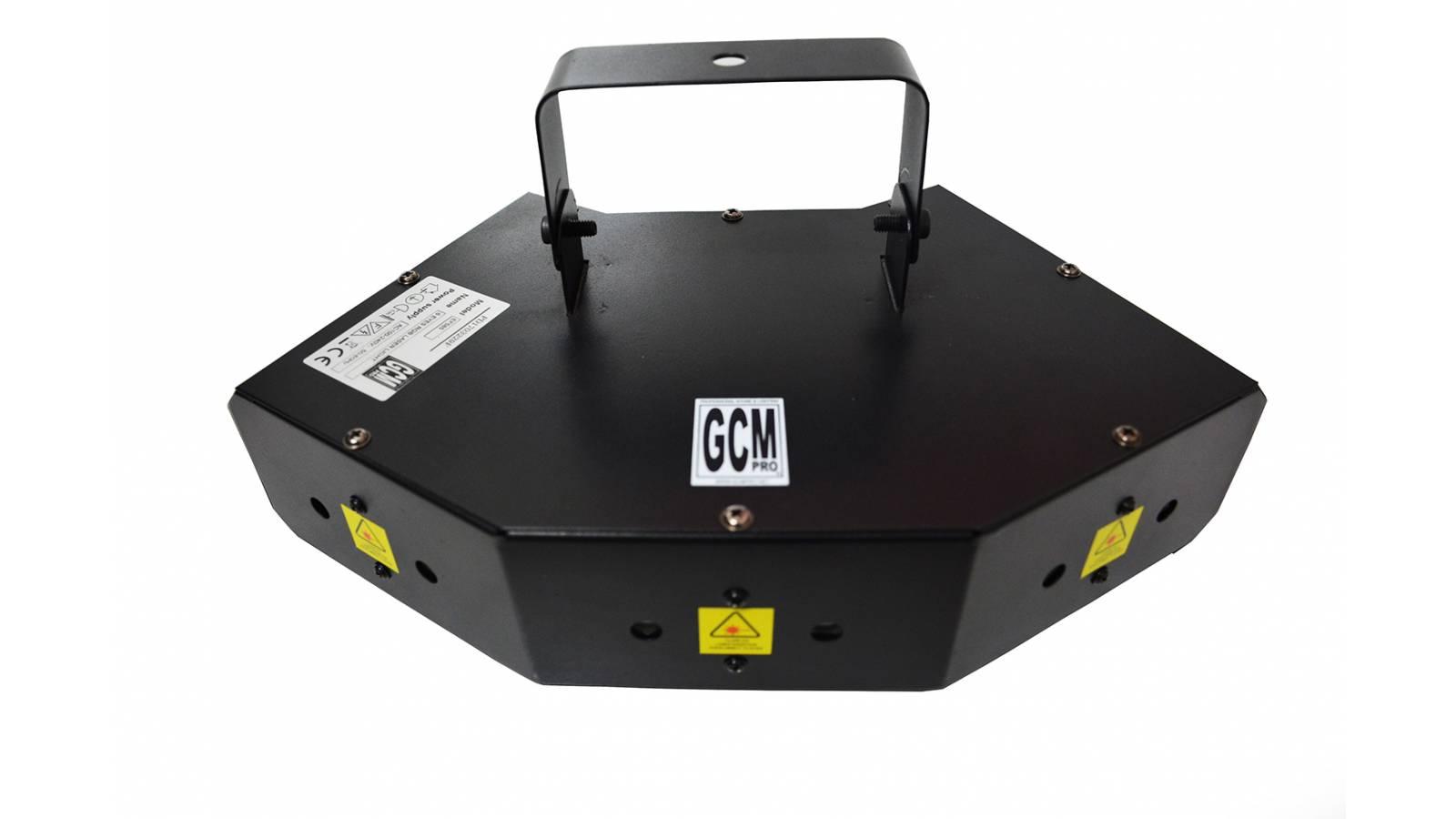 Efecto Láser de 6 Bocas RGB Alto Rendimiento GCMpro