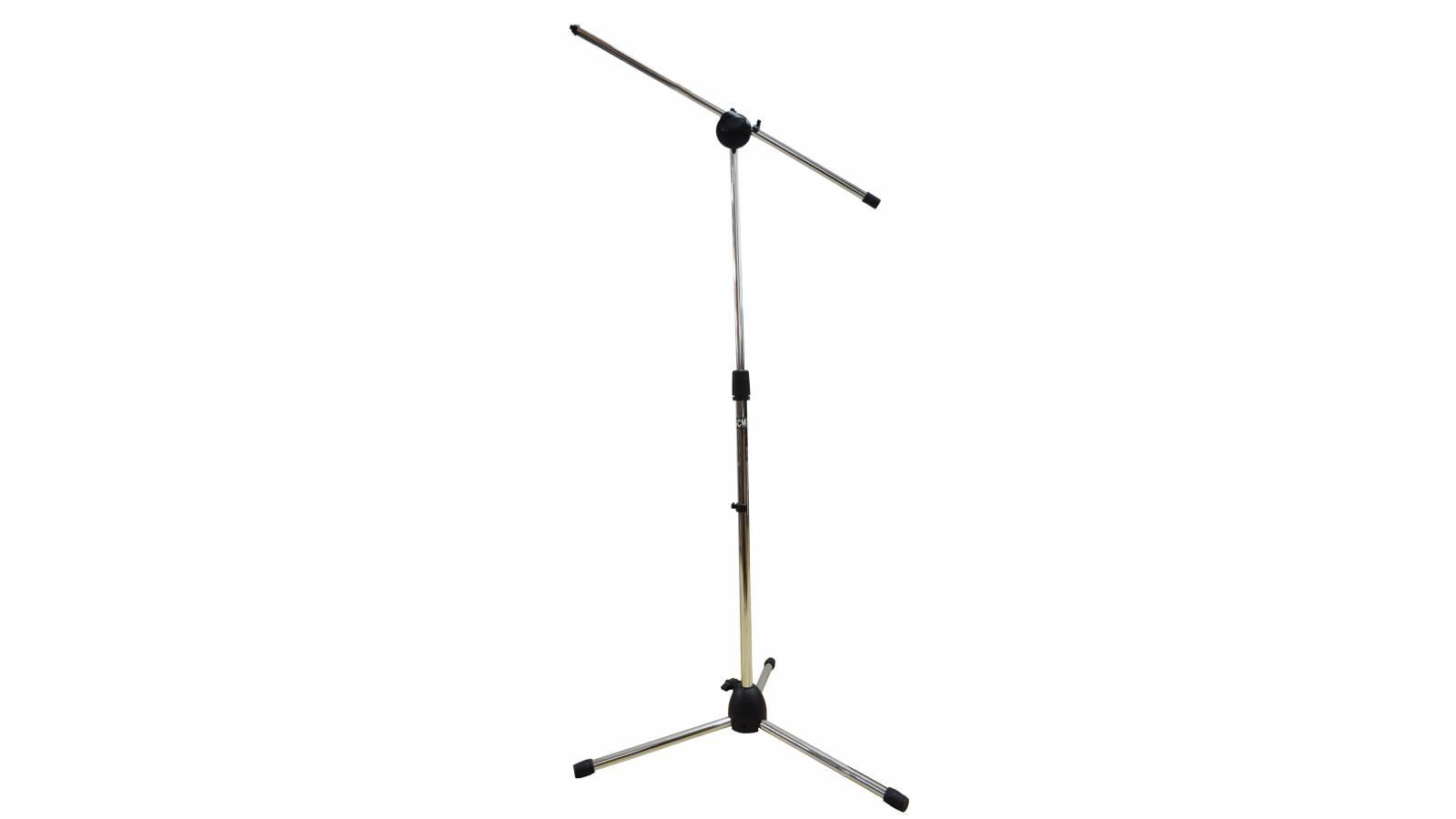 Jirafa, Soporte, Pie para Microfono Gcm 007s GCM Pro Plateada