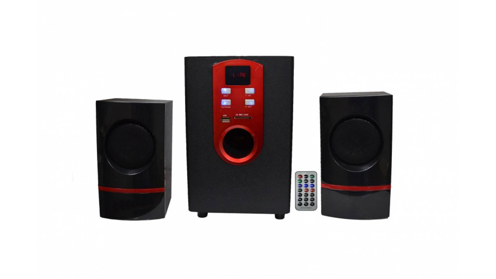 Home Theater 2.1 Sub G-11E-DT MP3, FM, USB, SD y Bluetooth