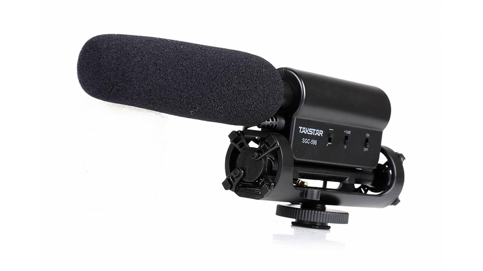 Microfono para Camaras Reflex Takstar SGC-598