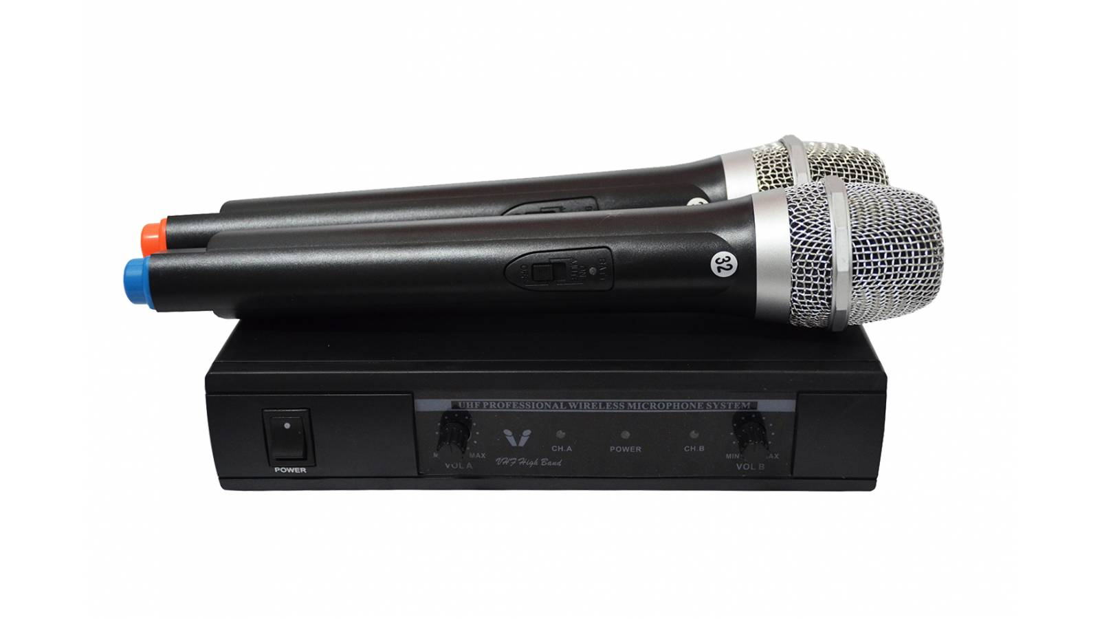 Kit de 2 Microfonos Inalambricos GT-80