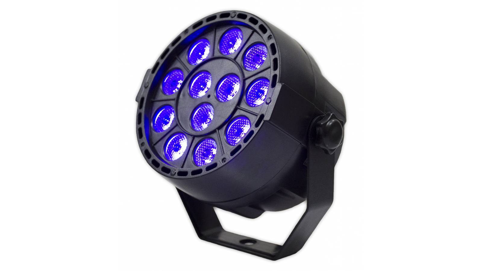 Tacho Par led UV Luz Negra GCM LP12UV DMX