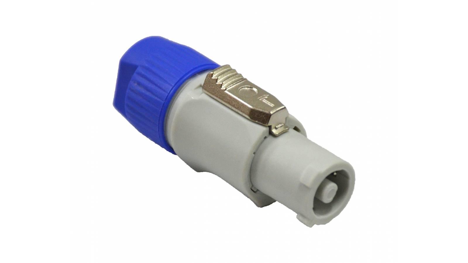 Conector Powercon B - Salida de corriente universal - 2 Polos más tierra
