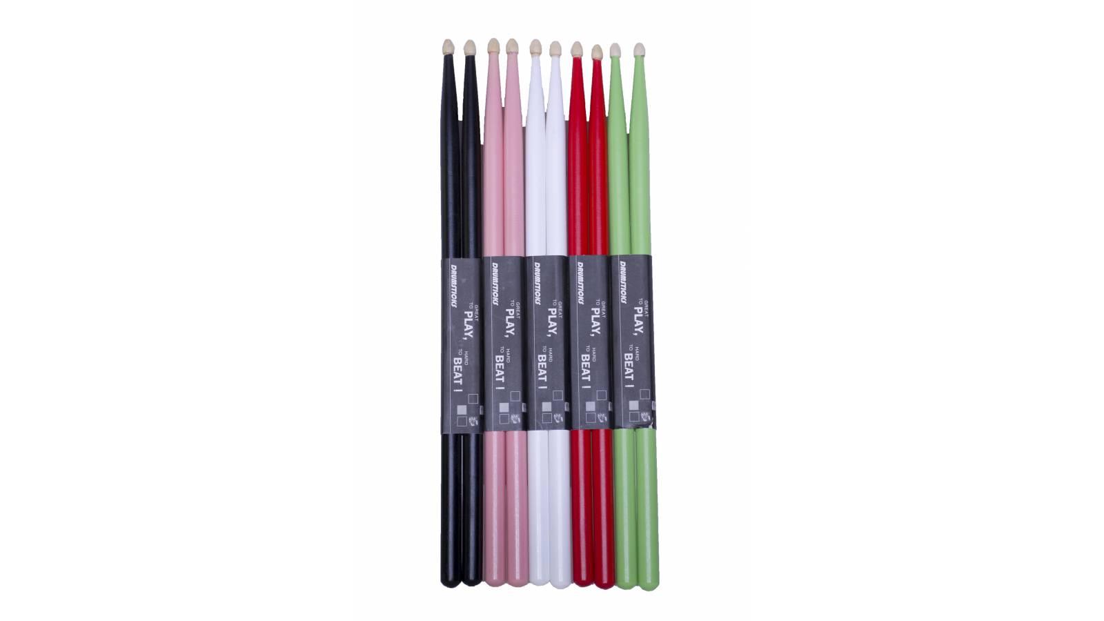 Palillos de madera BEAT1 - Colores a elección