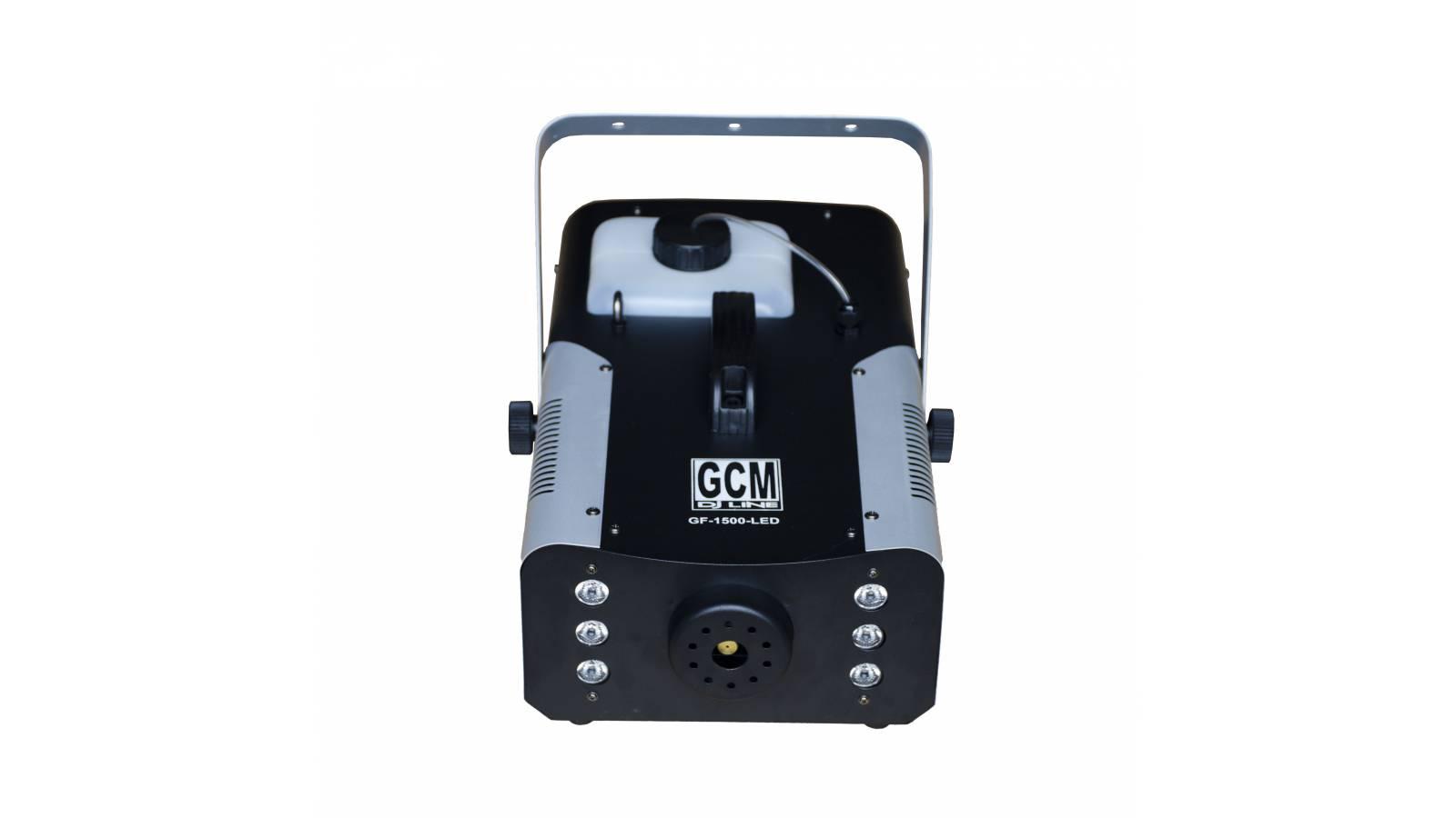 X-TREME Maquina de Humo LED de 1500W GF-1500W-LED + Control Remoto GCM Pro