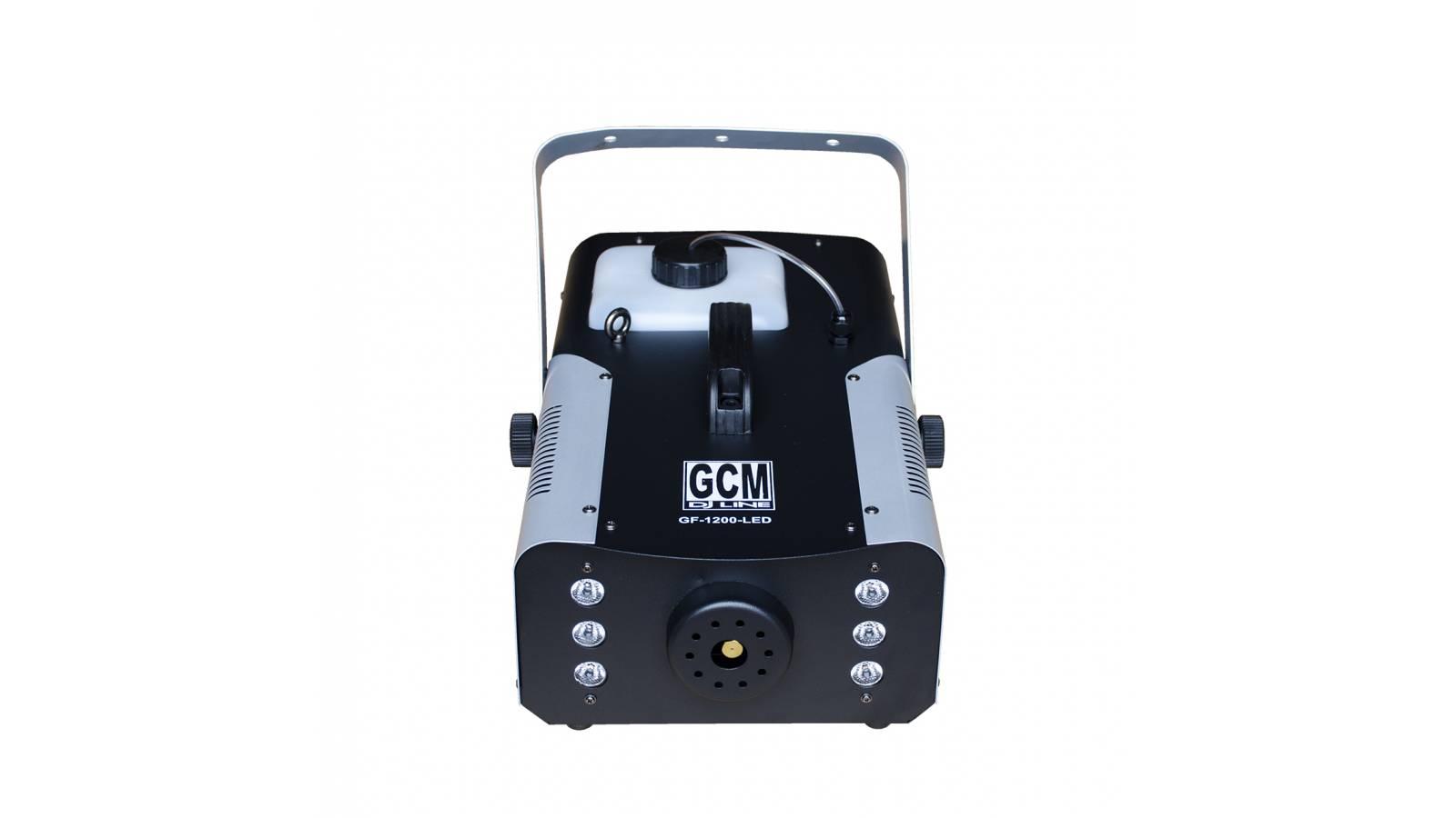 X-TREME Maquina de Humo LED de 1200W GF-1200W-LED + Control Remoto GCM Pro