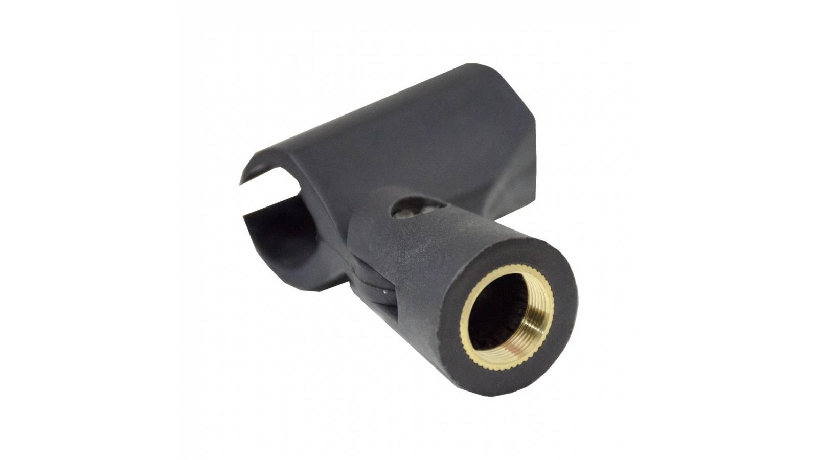 Porta Micrófono / Pipeta / Clamp Económico con Rosca de Metal