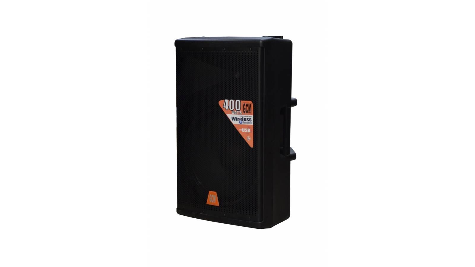 Caja Activa Potenciada GE-616Pro GCM DJ Line 200W RMS