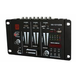 Mixer 3 Canales GS-1211UBD GCM Pro