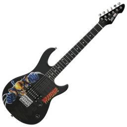 Guitarra Electrica Peavey 3/4 - Diseños Marvel - 2 Diseños A Elección