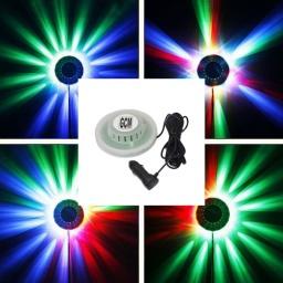 Efecto Ovni LED RGB para Auto conexión 12V