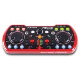 POCKET DJ DUO Dj-Tech Controladora Mesa de Mezclas DJ USB