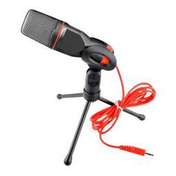 Micrófono para PC notebook Podcast 3.5mm Tripode G-666