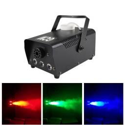 X-TREME Maquina de Humo LED de 400W GF-400W-LED + Control Remoto GCM Pro