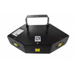 Efecto Láser de 6 Bocas RGB Alto Rendimiento GCM DJ Line