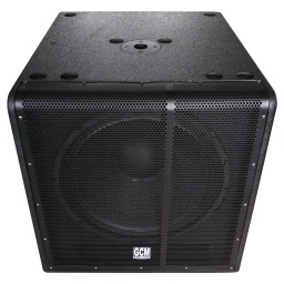 Subwoofer Activo 800 W RMS Potencia Digital DSP GCM Pro GXL-18SD