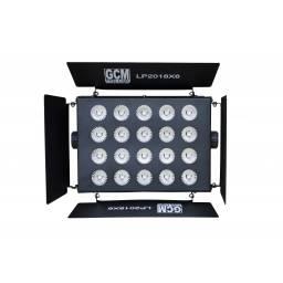 Panel Bañador 20 LEDS x 18W RGBWA+UV - LP2018 GCM Pro Line