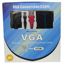 Conversor Adaptador de Video VGA a HDMI