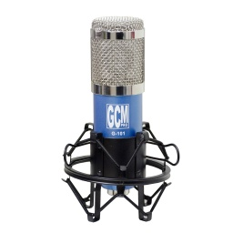 Microfono Condensador para Estudio G-101 + Antipop + Araña + Cable