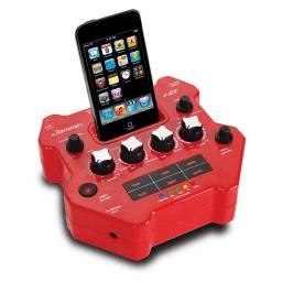 Procesador de Efectos de Guitarra portable con reproductor / grabadora de iPod